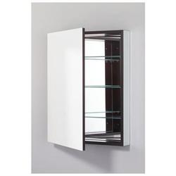 PLM24 Series Medicine Cabinet - Interior Finish: Black, Mirror Type: Plain