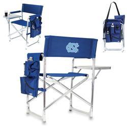 Navy North Carolina Tar Heels Sports Chair