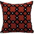 """Nourison Kathy Ireland Pillow Black Diamonds 18""""x18"""" Pillow"""