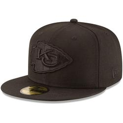 Men's New Era Kansas City Chiefs Black on 59FIFTY Fitted Hat