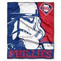 "MLB Philadelphia Phillies Star Wars & MLB Silk Touch Throw Blanket, 50"" x 60"""