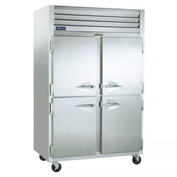 """Traulsen G20000 52 1/10"""" Two Section Reach In Refrigerator, (4) Left/Right Hinge Solid Doors, 115v"""
