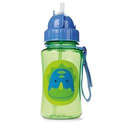 Skip Hop Zoo 12-ounce Straw Bottle, Multicolor