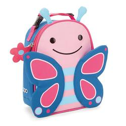 Skip Hop Zoo Lunchie Insulated Lunch Bag, Pink