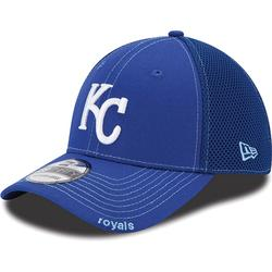 """New Era Kansas City Royals Neo 39Thirty Stretch Fit Hat - Royal Blue"""