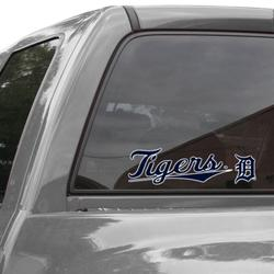 """""""WinCraft Detroit Tigers 3"""""""" x 10"""""""" Perfect Cut Decal - Navy Blue"""""""