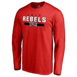 """""""Men's Red UNLV Rebels Team Strong Long Sleeve T-Shirt"""""""