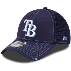"""""""New Era Tampa Bay Rays Navy Blue Neo 39THIRTY Stretch Fit Hat"""""""