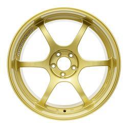 "Yokohama Wheel Advan RG-D Gold Wheel with Painted Finish (18x10.5""/5x114.3mm, +25mm offset)"