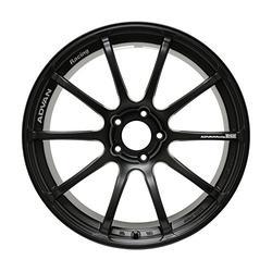 "Yokohama Wheel Advan RSII Semi Gloss Black Wheel with Painted Finish (18x9""/5x114.3mm, +25mm offset)"