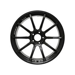 "Yokohama Wheel Advan RSII Semi Gloss Black Wheel with Painted Finish (18x8.5""/5x100mm, +35mm offset)"