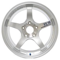 "Yokohama Wheel Advan TCIII Hyper Silver Wheel with Painted Finish (18x10.5""/5x114.3mm, +25mm offset)"
