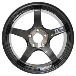 "Yokohama Wheel Advan TCIII Dark Gunmetal Wheel with Painted Finish (18x11""/5x114.3mm, +15mm offset)"