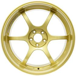 "Yokohama Wheel Advan RG-D Gold Wheel with Painted Finish (17x9""/5x114.3mm, +60mm offset)"