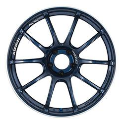 "Yokohama Wheel Advan RZII Indigo Blue Wheel with Painted Finish (18x9""/5x114.3mm, +35mm offset)"