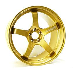 "Yokohama Wheel Advan GT Gold Wheel with Painted Finish (20x12""/5x114.3mm, +20mm offset)"
