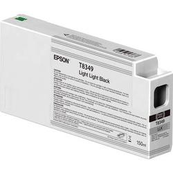 Epson T834900 UltraChrome HD Light Light Black Ink Cartridge (150ml) T834900
