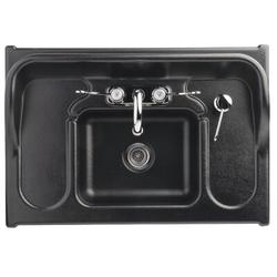 "Ozark River Portable Sinks Premier Series 26"" x 18"" Portable Handwash Station w/ Faucet, Size 39.0 H x 26.0 W x 18.0 D in   Wayfair ADSTM-AB-AB1N"