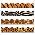 TREND enterprises, Inc. T-92917 Animal Prints Terrific Trimmers, Variety Pack, 156', Brown