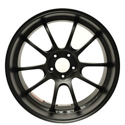 "Yokohama Wheel Advan RZ-DF Matte Black Wheel with Painted Finish (18x11""/5x130mm, +60mm offset)"