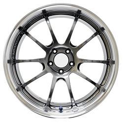 "Yokohama Wheel Advan RZ-DF Hyper Black Wheel with Painted Finish (19x9""/5x120mm, +50mm offset)"