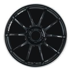 "Yokohama Wheel Advan RZII Gloss Black Wheel with Painted Finish (18x8.5""/5x112mm, +45mm offset)"