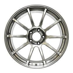 "Yokohama Wheel Advan RSII Hyper Black Wheel with Painted Finish (17x9""/5x114.3mm, +63mm offset)"
