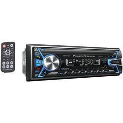 Power Acoustik PL-51B 1-DIN Digital Audio Head Unit With 32GB USB/SD/AUX/Bluetooth,Black