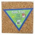 Acco Brands, Inc. Cork Tiles, Size 6.0 H x 6.0 W x 1.8 D in   Wayfair FLP12066
