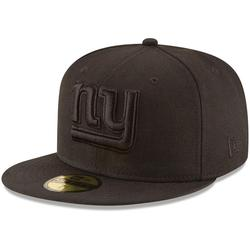 """""""Men's New Era York Giants Black on 59FIFTY Fitted Hat"""""""