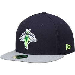 """""""Men's New Era Navy/Gray Columbia Fireflies Road 2016 Authentic Collection On-Field 59FIFTY Fitted Hat"""""""