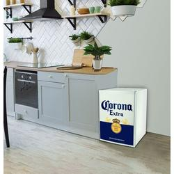 Koolatron Corona 2.4 cu. ft. Freestanding Mini Fridge w/ Freezer in White, Size 31.0 H x 24.0 W x 26.0 D in | Wayfair COR70-W