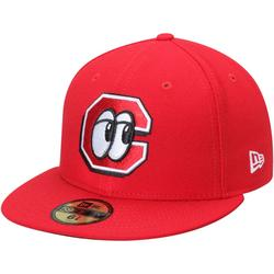 """""""Men's New Era Red Chattanooga Lookouts Home Authentic Collection 59FIFTY Fitted Hat"""""""