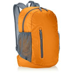 Amazon Basics Lightweight Packable Hiking Travel Day Pack Backpack - 19 x 8 x 13 Inches, 35 Liter, Orange
