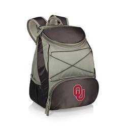 """Black Oklahoma Sooners PTX Backpack Cooler"""