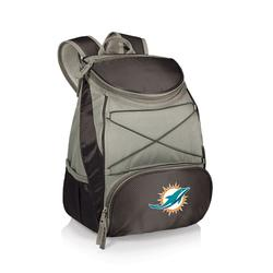 """""""Black Miami Dolphins PTX Backpack Cooler"""""""