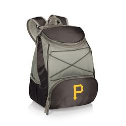 """""""Black Pittsburgh Pirates PTX Backpack Cooler"""""""