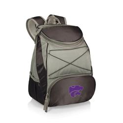 """Black Kansas State Wildcats PTX Backpack Cooler"""