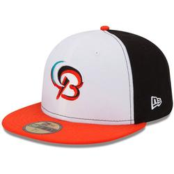 """""""Men's New Era Black/Orange Bowie Baysox Authentic Collection On Field 59FIFTY Fitted Hat"""""""