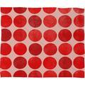 Latitude Run® Kenlyn Colorplay Plush Fleece Throw Blanket Metal in Red/White, Size 40.0 H x 30.0 W in | Wayfair BRSD9400 29856933
