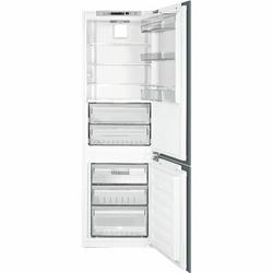 "SMEG 24"" Counter Depth 8.4 cu. ft. Panel Ready Bottom Freezer Refrigerator in White, Size 73.0 H x 24.0 W x 24.0 D in | Wayfair CB300U"