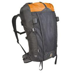 VenTerra Men's Nomad 40 Lightweight Backpack, Orange, Medium