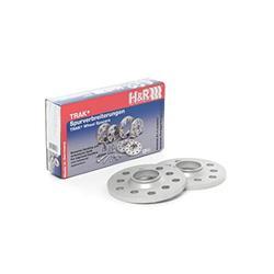H&R 30255571SW Wheel Spacer (5/100 57.1 14x1.5 DR (Pair))