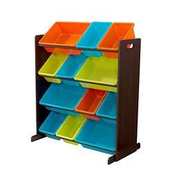 KidKraft Sort It & Store It Bin Unit - Bright, Multi