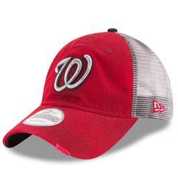 """Men's New Era Red Washington Nationals Team Rustic 9TWENTY Adjustable Hat"""
