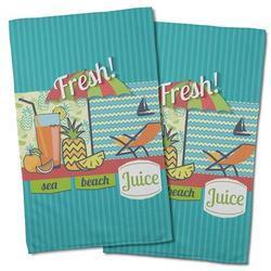 Island Girl Home Garden Fresh Juice Hand Towel Microfiber/Terry/Cotton in Brown   Wayfair IGH-KT34