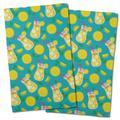 Island Girl Home Garden Lemonade Hand Towel Microfiber/Terry/Cotton in Green/Pink/Yellow   Wayfair IGH-KT77