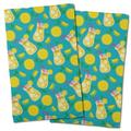 Island Girl Home Garden Lemonade Hand Towel Microfiber/Terry/Cotton in Green/Pink/Yellow | Wayfair IGH-KT77