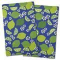 Island Girl Home Garden Limes & Daisies Hand Towel Microfiber/Terry/Cotton in Yellow | Wayfair IGH-KT78