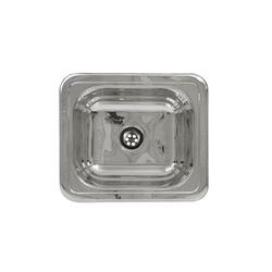 Whitehaus Wh693abl Single Basin Stainless Steel Kitchen Sink From The Entertainment/Prep